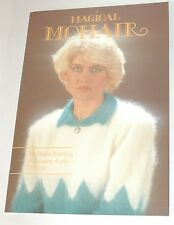 Magic Mohair Book - Machine Knitting in 4ply Mohair Knitting Machine Book M620