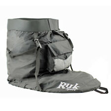 RUK Nylon Kayak Spray Deck Skirt With Braces and Pocket - Neoprene Comfort Waist