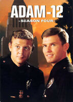 Adam 12: Season 4 (Fourth Season) (4 Disc) DVD NEW