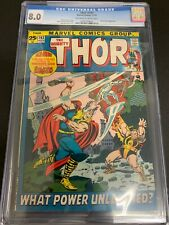 THOR #193 * CGC 8.0 * (MARVEL, 1971)  GIANT ISSUE!  BUSCEMA ART!  SILVER SURFER!