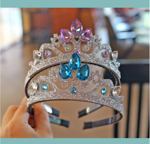 Elsa Princess Fancy Girls Kids Crystal Rhinestone Party Tiara Crown Headband