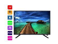 Englaon 19'' Ultra Slim HD LED TV Built-In HD Tuner & DVD, 12V for Caravan