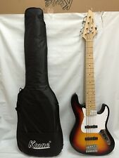 6 STRING ELECTRIC BASS GUITAR WITH GIG BAG NEW