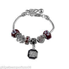 South Carolina Gamecocks Amor Charm Bracelet