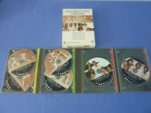 The Australian Cricket Collection DVD Cricket in the 50s 60s 70s 80s Box Set R4