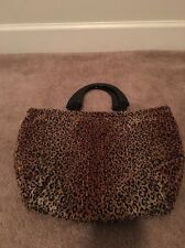 Womens Purse Small Handbag Leopard Print Bag Pocket Book