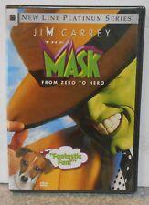 The Mask (DVD, 2005) RARE 1994 JIM CARREY ( CAMERON DIAZ 1ST FILM )BRAND NEW