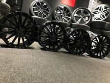 """Ex Display 18"""" Ford RS Style Gloss Black Alloy Wheels Focus Kuga Connect + More"""