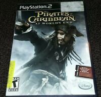 Pirates of the Caribbean At World's End, PlayStation 2 PS2 GAME ~NO MANUAL