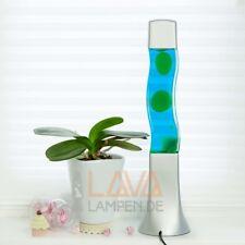 Cuadrado Lámpara de Lava VERDE-AZUL 41cm lavalampen Lámpara de Lava lawa Luces