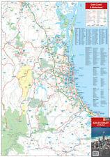 Gold Coast & Region Map Hema  latest ed brand new  freepost Aust