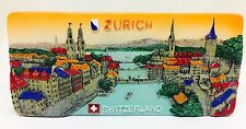 Zurich Switzerland 3D Fridge Magnet Resin Souvenir Gift Tourist