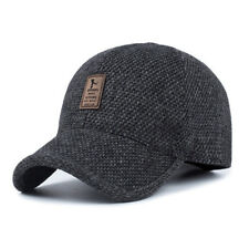 Adjustable Men Winter Warm Baseball Casual Cap Earflap Earmuffs Golf Outdoor Hat