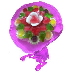 (3,43€/100g) Look o Look Candy Blumenstrauß aus Fruchtgummi 145g