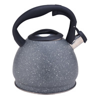 3.2QT Whistling Tea Kettle Stainless Steel Teakettle Stovetop Teapot Water Pot