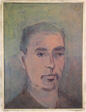 Bittermann Manfred 1924 Gemälde Portrait Mann - Selbstportrait