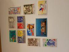timbres France 2938 2939 2940 2941 à 2948 année 1995 cote 16,75€ VF 5,30€