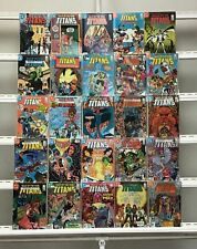 Tales Of The Teen Titans Dc 25 Lot Comic Book Comics Set Run Collection Box