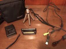 Sony Cybershot DSC-T77 10 MP. Batt Charger, Batt, Case, 1  4GB Memory Stick+Accs