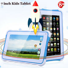 77 INCH Kids Child Tablet PC Android4.4 8GB WIFI 3G 2* Camera 1024*600 GIFT BLUE