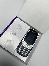 Nokia 3310 (2017) - Bleu foncé et Gris (Débloqué) Téléphone Cellulaire (Simple SIM)
