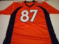 Noah Fant Signed Jersey (JSA Hologram)Denver Broncos