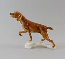 9997112 Porzellan Figur Hund Jagdhund Ens 20x24cm