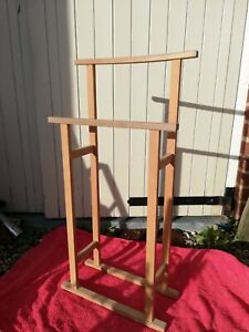 Habitat wooden towel rail stand clothes horse Shaker style