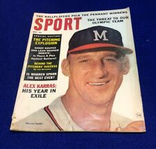 May 1964 Sport Magazine with Warren Spahn  cover