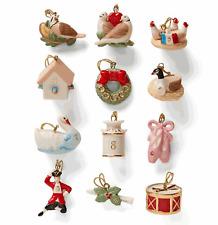 Lenox Twelve Days of Christmas Miniature 12-pc Ornament Set