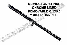 REMINGTON 870 (24 INCH) FIBER OPTIC REMOVABLE CHOKE SUPER BARREL .12 GAUGE (NEW)