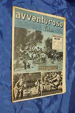 rivista fotoromanzo - AVVENTUROSO FILM - Anno 1949 Numero 3