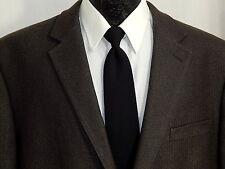 ALAN FLUSSER Men Big Jacket CHARCOAL GRAY Sport Coat SOFT HERRINGBONE Blazer 46