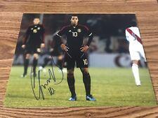 Giovani Dos Santos Signed 11x14 Photo La Galaxy Club America Villarreal Proof