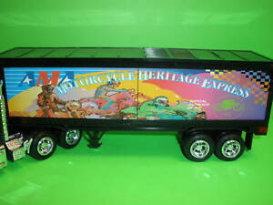 Taylor Made Trucks TMT AMA AMERICAN MOTORCYCLIST TRACTOR TRAILER BOX-SEALED D