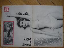 MAGDA KONOPKA SATANIK POSTER RIVISTA ABC 1966