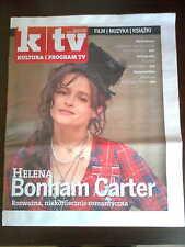 Polish Magazine front Helena Bonham Carter in. Oldrich Lipsky, David Morse