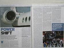 10/04 ARTICLE 4 PAGES ROLLS-ROYCE TAY 611-8C ENGINE DESCRIPTION CUTAWAY POSTER