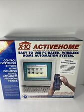 X-10 Activehome wireless home automation kit New In Factory Sealed Box