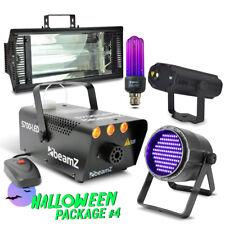 Spooky Party Halloween Decoration Lights w/ Smoke, Laser, Strobe & LED UV