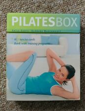 PILATES BOX Exercise Cards Book FITNESS TRAINING PROGRAM How to Do PHOTO Step by