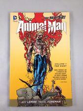 Animal Man - Volume 1 The Hunt - DC Comics - New 52 TPB -  Jeff Lemire
