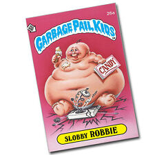 Garbage Pail Kids Slobby Robbie Reproduction 8x12 Inch Aluminum Sign
