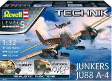 Revell - Maquette Technik Junker Ju 88 A-4 00452
