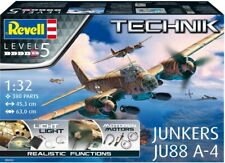 JUNKERS Ju88 A-4 avec éclairage, WW2 - KIT REVELL 'TECHNIK' 1/16 n° 00452