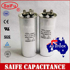 2X CBB65 450VAC 50uF Air Conditioner Appliance Motor Run Capacitor OZ Seller