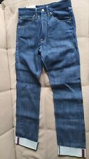 G-star Raw Marc Newson fake turn up denim jeans men's w 31 L 34