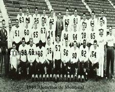Cfl 1949 Montreal Alouettes Team Picture  00004000 Black & White 8 X 10 Photo Picture