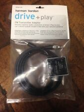 Harman Kardon DPFMT 1 US Drive and Play Wired FM Transmitter Wireles Adapter NEW