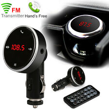 Bluetooth 2.1 Car Kit Wireless FM Transmitter Modulator USB Charger MP3 Player